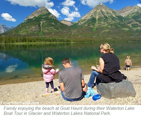 Waterton Boat Tour, Glacier National Park