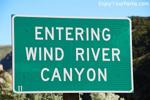 Wind River Canyon Scenic Byway,Wyoming