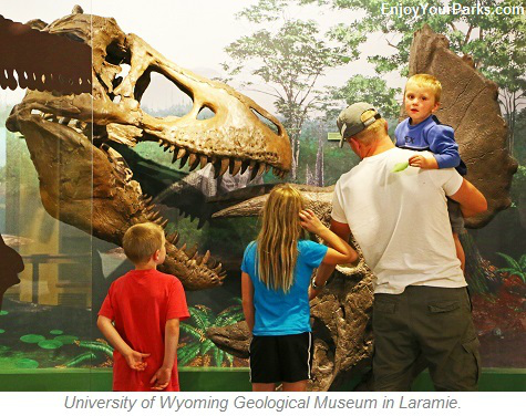 University of Wyoming Geological Museum, Laramie Wyoming