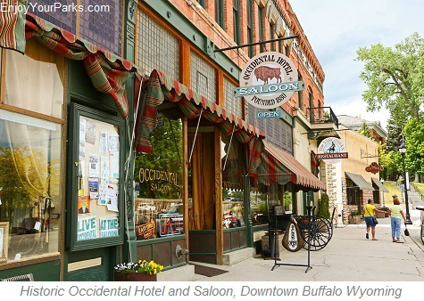 Historic Occidental Hotel, Buffalo Wyoming