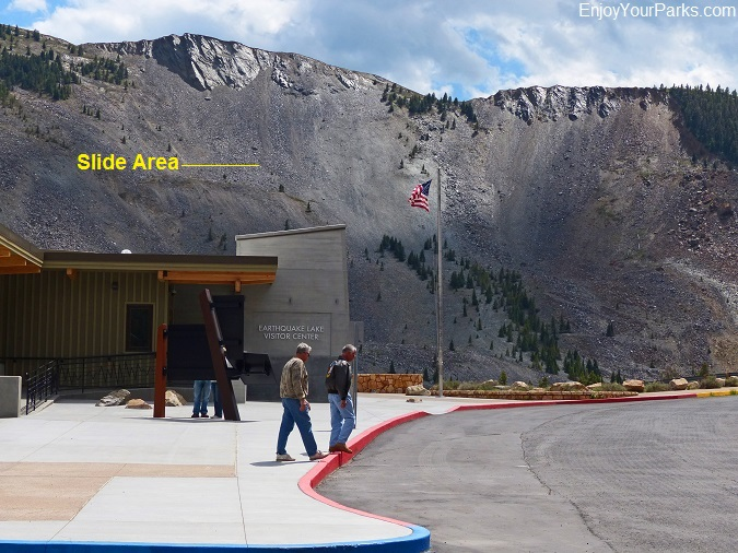 Earthquake Lake Visitor Center Montana
