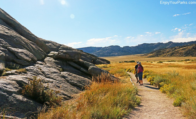 Independence Rock Trail, Wyoming