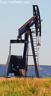 Oil well, North Dakota