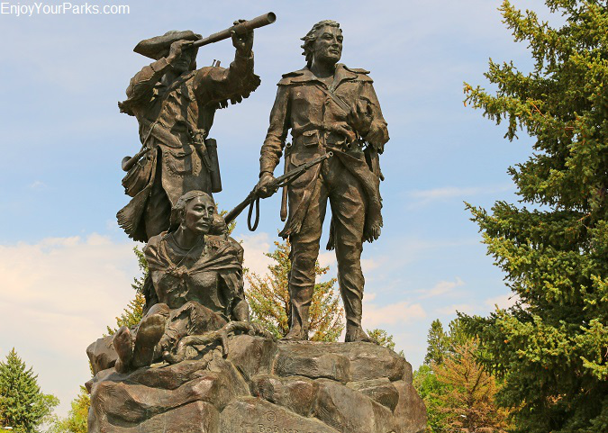 Montana Lewis and Clark Memorial, Fort Benton Montana
