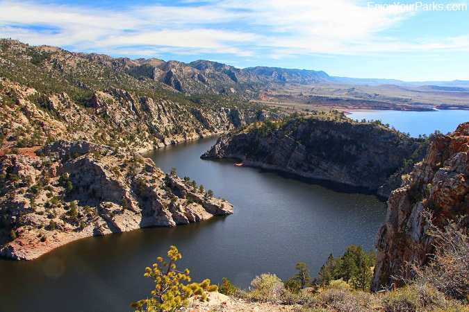 Seminoe Reservoir in Seminoe State Park, Wyoming