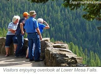Lower Mesa Falls, Mesa Falls Scenic Byway, Idaho