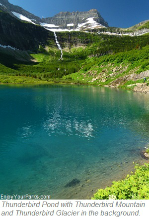 Thunderbird Pond, Glacier Park