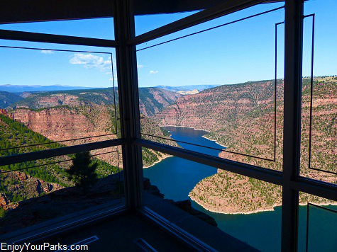 Red Canyon Visitor Center, Flaming Gorge