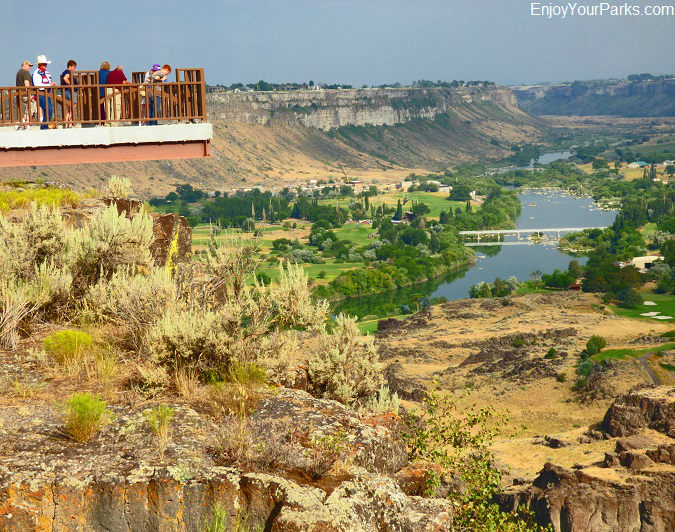 Snake River Canyon Rim Trail System, Twin Falls Idaho
