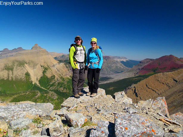 Triple Divide Peak summit, Glacier National Park