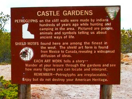 Castle Gardens Petroglyph Site, Wyoming