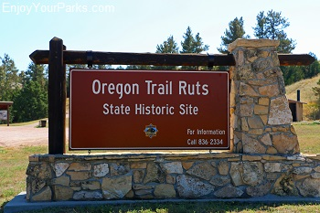 Oregon Trail Ruts National Historic Landmark, Wyoming