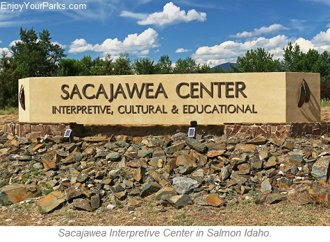Sacajawea Interpretive Center, Salmon Idaho, Salmon River Scenic Byway