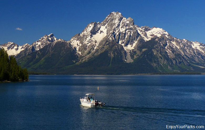 Colter Bay with Mount Moran, Grand Teton National Park