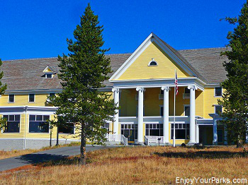Lake Yellowstone Hotel, Yellowstone Park Lodging Facilities