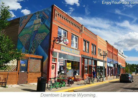 Downtown Laramie Wyoming