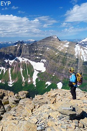 Dawson Pass, Glacier National Park.