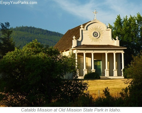 Cataldo Mission, Old Mission State Park, Idaho