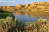Wild and Scenic Upper Missouri River, Fort Benton Montana