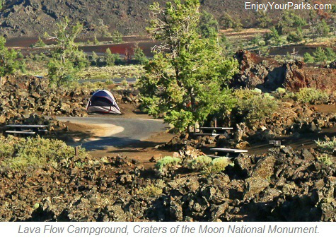 Lava Flow Campground, Craters of the Moon National Monument, Idaho