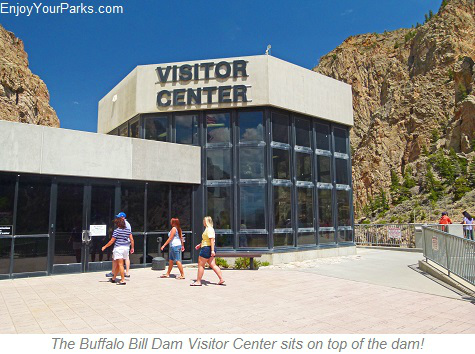 Buffalo Bill Dam Visitor Center, Wyoming