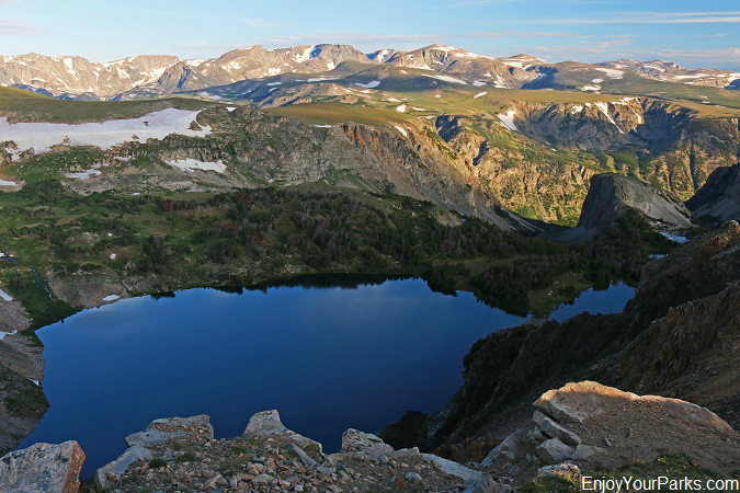 Alpine Lake, Beartooth Highway Montana