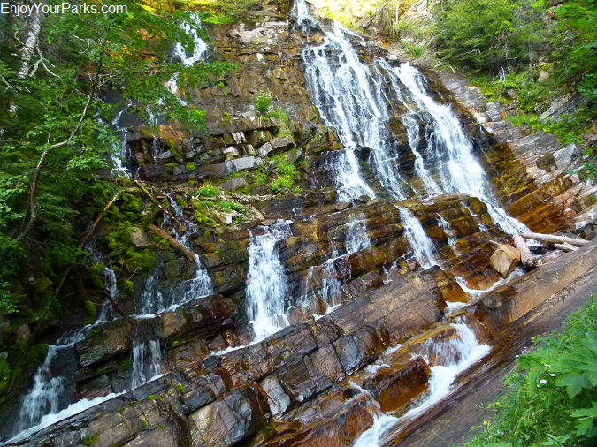 Lower Bertha Falls, Waterton Lakes National Park