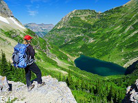 Stoney Indian Pass, Glacier Park