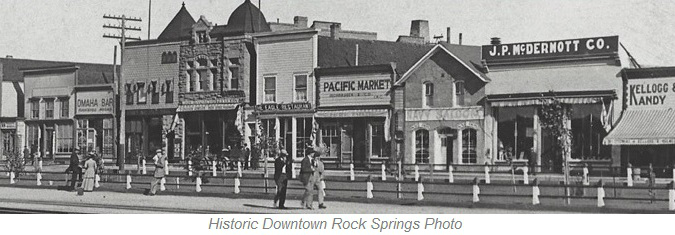 Historic Downtown Rock Springs Wyoming