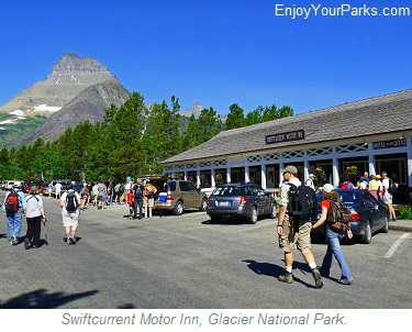 Swiftcurrent Motor Inn, Glacier Park Lodging, Glacier National Park