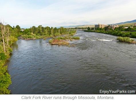 Clark Fork River, Missoula Montana