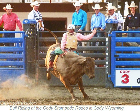 Buffalo Bill Stampede Rodeo, Cody Wyoming