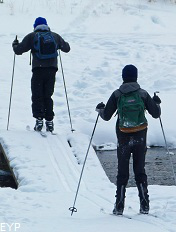 Cross Country Skiing, Silver Gate Montana, Yellowstone National Park