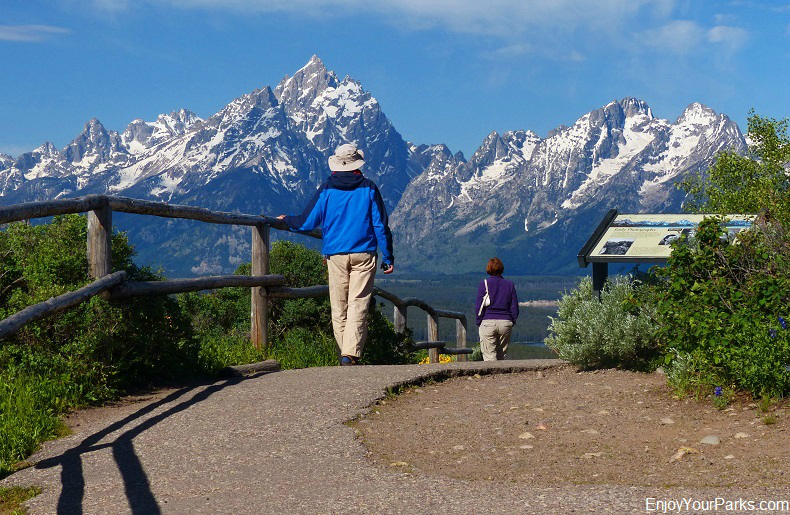 Jackson Point Overlook, Signal Mountain, Grand Teton National Park