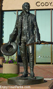 Buffalo Bill  Cody Statue, Buffalo Bill Center of the West, Wyoming
