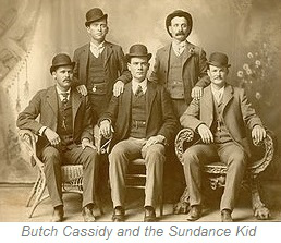 Butch Cassidy and the Sundance Kid, Wyoming
