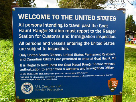Goat Haunt Montana, Glacier Park