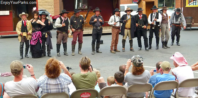 Gunfight Reenactment, Cody Wyoming