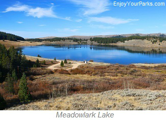 Meadowlark Lake, Bighorn National Forest, Wyoming
