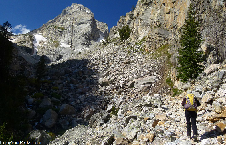 Garnet Canyon, Grand Teton National Park