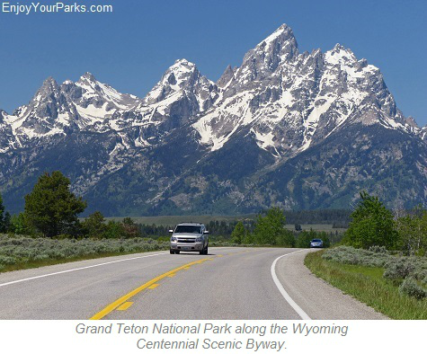 Grand Teton National Park, Wyoming Centennial Scenic Byway