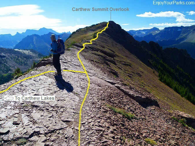 Carthew Summit, Carthew-AldersonTrail, Waterton Lakes National Park