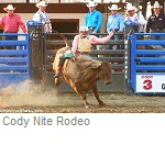 Cody Nite Rodeo, Cody Wyoming