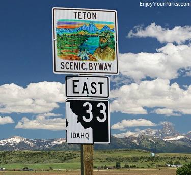 Teton Scenic Byway, Idaho