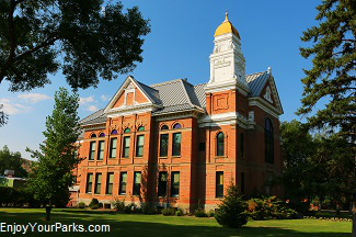Historic Choteau County Court House, Fort Benton Montana
