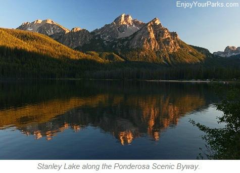 Stanley Lake, Ponderosa Scenic Byway, Idaho