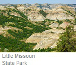 Little Missouri State Park, North Dakota
