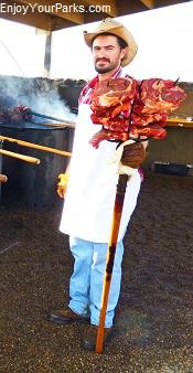 Medora Musical Pitchfork Steak Fondue