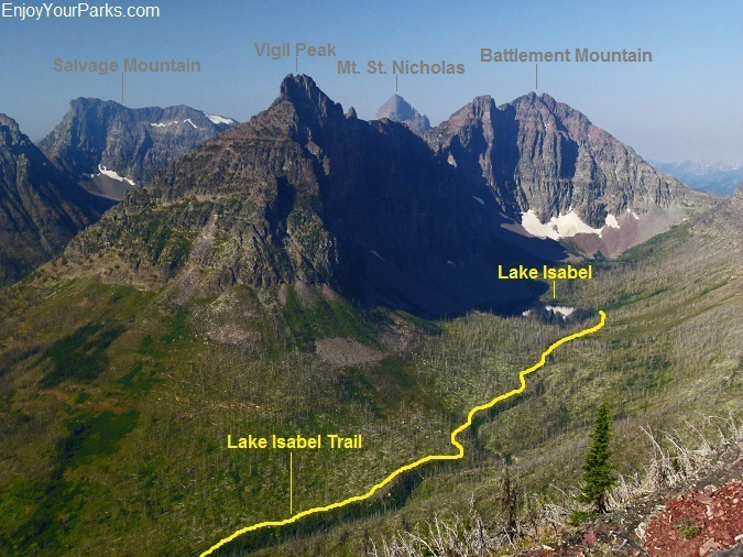 Lake Isabel Trail, Glacier National Park