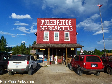 Polebridge Mercantile, North Fork Area, Glacier National Park